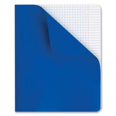 Тетрадь 48 л., HATBER, клетка, полимерная обложка, «Синий», 48Т5С1