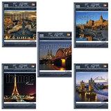 Тетрадь 96 л., HATBER VK, клетка, обложка мелованный картон, «Traveler» («Путешествие»)