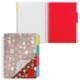 Тетрадь-блокнот 150 л., A5, 170×215 мм BRAUBERG (БРАУБЕРГ), клетка, гребень, обл. пласт., 4 разд., «Foxy Lady» («Леди»), 4 вида
