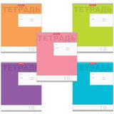 Тетрадь 18 л., ERICH KRAUSE, клетка, обложка мелованный картон, «Новая классика»