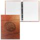 Тетрадь на кольцах, 240 л., HATBER, ламинированная обложка, «Гербовая печать»