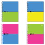 Тетрадь 96 л., HATBER, гребень, клетка, выборочный лак, «Ideas Color» («Цвета»)