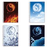 Тетрадь 96 л., А4, HATBER, гребень, клетка, обложка мелованный картон, «Элементы природы»