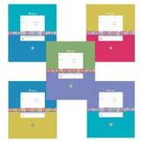 Тетрадь 18 л., ERICH KRAUSE, клетка, обложка мелованный картон, «Классика с орнаментом»