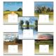 Тетрадь 24 л., ERICH KRAUSE, клетка, обложка мелованный картон, «Родные просторы»