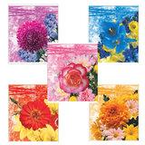 Тетрадь 96 л., ERICH KRAUSE, клетка, обложка мелованный картон, «Floral Melody» («Цветы»)