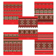 Тетрадь 96 л., ERICH KRAUSE, клетка, обложка мелованный картон, «Народные мотивы»