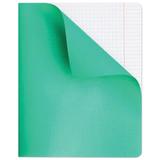 Тетрадь 48 л., HATBER, клетка, полимерная обложка, «Зелёная»