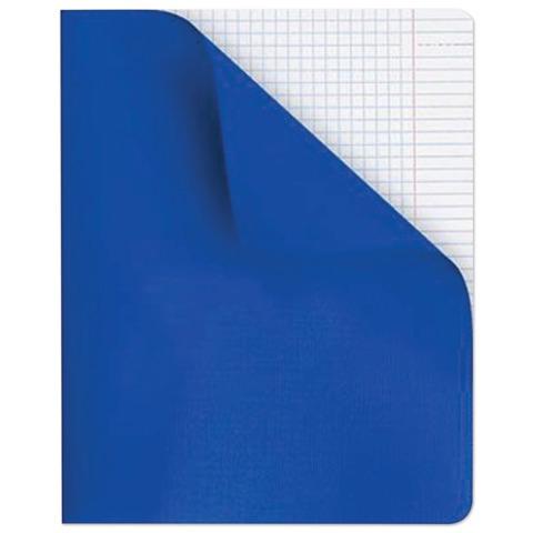 Тетрадь 96 л., HATBER, клетка, полимерная обложка, «Синяя»