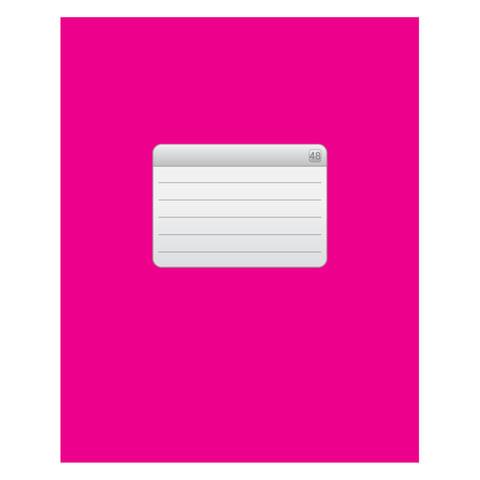 """Тетрадь 48 л., HATBER VK, клетка, обложка мелованный картон, """"ТЕТРАДЬ - Розовая"""", 48Т5C1 12537"""