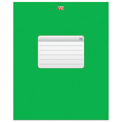 Тетрадь 96 л., HATBER VK, клетка, обложка мелованный картон, «ТЕТРАДЬ — Зеленая», 96Т5C1 12535