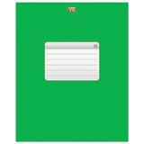 Тетрадь 96 л., HATBER VK, клетка, обложка мелованный картон, «ТЕТРАДЬ — Зеленая»