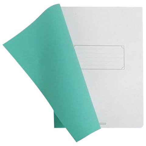 Тетрадь 80 л., А4 HATBER, клетка, полимерная обложка, зеленая