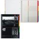 Тетрадь 120 л., А4, HATBER, 7БЦ, 4-х цветный внутренний блок, спираль, клетка, «City Life» (Офис)