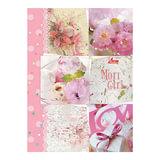 Тетрадь на кольцах, 120 л., HATBER, ламинированная обложка, «Sweet mori girl» («Цветы»), 120ТК5В1 14436