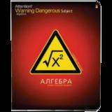 Тетрадь предметная «Альт», 48 л., конгрев, лак, «Опасный предмет», АЛГЕБРА, клетка