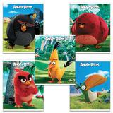 Тетрадь «ANGRY BIRDS» — (MOVIE), 48 л., клетка, обложка мелованный картон, HATBER, 48Т5В1