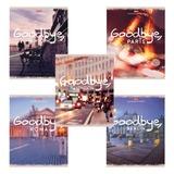 Тетрадь 96 л., HATBER, клетка, мелованный картон обложка, «GoodBye» («Города»)