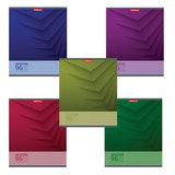 Тетрадь 48 л., ERICH KRAUSE, клетка, мелованный картон обложка, «Duotone Next»