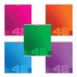 Тетрадь 48 л., ERICH KRAUSE, клетка, мелованный картон обложка, «Fusion»