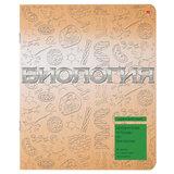 Тетрадь предметная, АЛЬТ, 48 л., конгрев, лак, «Металлографика», БИОЛОГИЯ, клетка