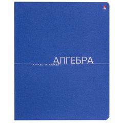 Тетрадь предметная, АЛЬТ, 48 л., тиснение фольгой, «One Color», АЛГЕБРА, клетка