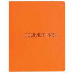 Тетрадь предметная, АЛЬТ 48 л., тиснение фольгой, «One Color», ГЕОМЕТРИЯ, клетка