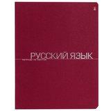 Тетрадь предметная, АЛЬТ, 48 л., тиснение фольгой, «One Color», РУССКИЙ ЯЗЫК, линия