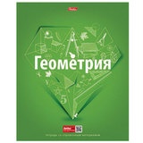 Тетрадь предметная, HATBER, 48 л., выборочный лак, «Простая наука», ГЕОМЕТРИЯ, клетка