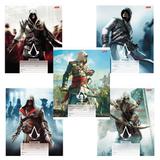 Тетрадь 18 л., HATBER, клетка, обложка мелованный картон, «Assassin's Creed», 18Т5В1