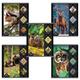 Тетрадь 48 л., HATBER, клетка, обложка мелованный картон, «Животные родного края», 48Т5В1