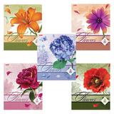 Тетрадь 48 л., HATBER, клетка, фактурное тиснение, «Дарите девушкам цветы», 48Т5тВ1
