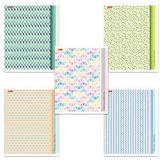 Тетрадь 48 л., HATBER, линия, обложка мелованный картон, «Pattern Collection», 48Т5В2
