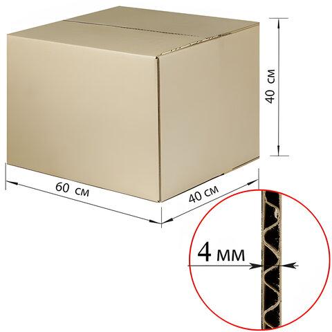 Гофроящик, длина 600 х ширина 400 х высота 400 мм, марка Т22, профиль С