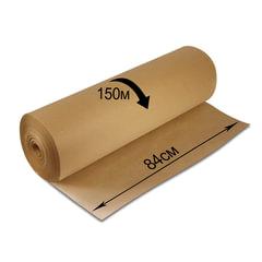 Крафт-бумага для упаковки, 840 мм х 150 м, 78 г/<wbr/>м<sup>2</sup>, в рулоне, BRAUBERG