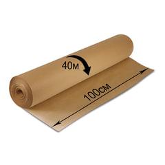 Крафт-бумага в рулоне, 1000 мм х 40 м, плотность 78 г/<wbr/>м<sup>2</sup>, BRAUBERG