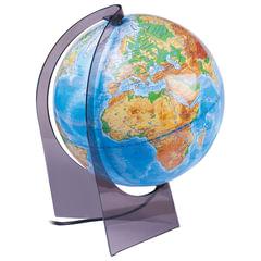 Глобус физический, диаметр 210 мм (Россия), с подсветкой