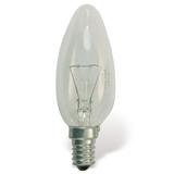 Лампа накаливания OSRAM Classic B CL E14, 60 Вт, свечеобр., прозрачн, колба d=35 мм, цоколь d=14 мм