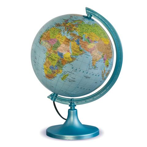 Глобус политический/физический GLOWALA, диаметр 250 мм