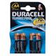Батарейки DURACELL Turbo AA LR6, комплект 4 шт., в блистере, 1.5 В (самые мощные щелочные батарейки)