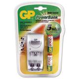 Зарядное устройство GP (Джи-Пи) для 2-х NiMH аккумуляторов AA или ААА + 2 аккумулятора АА 2700 мАч, заряд 5 часов