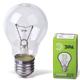 Лампа накаливания ЭРА, 75 Вт, грушевидная, прозрачная, колба d=60 мм, цоколь Е27