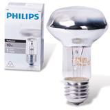 Лампа накаливания PHILIPS Spot R63 E27 30D, 40 Вт, зеркальная, колба d = 63 мм, цоколь E27, угол 30°