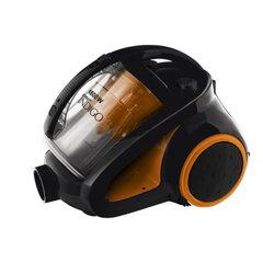 Пылесос SCARLETT IS-580 с контейнером «мультициклон», потребляемая мощность 1800 Вт, мощность всасывания 400 Вт, черный/<wbr/>оранжевый