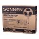 Вентилятор напольный SONNEN SF-50W-40-01, d=40 см, 50 Вт, 3 скоростных режима, решетка, белый
