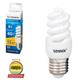 Лампа люминесцентная энергосберегающая SONNEN Т2, 9 (40) Вт, цоколь E27, 12000 ч., холодный свет, премиум