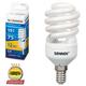 Лампа люминесцентная энергосберегающая SONNEN Т2, 15 (75) Вт, цоколь E14, 12000 ч., холодный свет, премиум