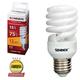 Лампа люминесцентная энергосберегающая SONNEN Т2, 15 (75) Вт, цоколь E27, 12000 ч., теплый свет, премиум