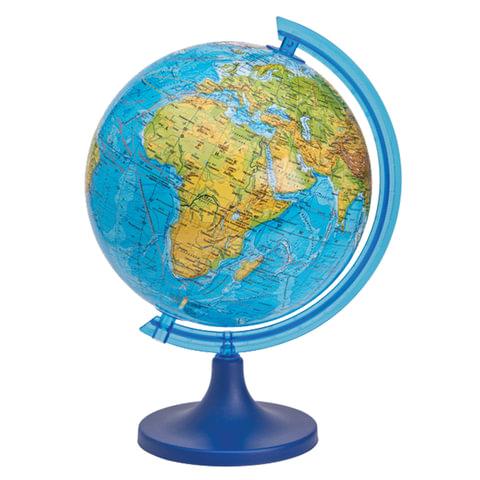 Глобус физический DMB, диаметр 250 мм (изготовлено по лицензии ФГУП ПКО «Картография»)
