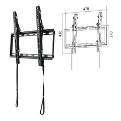 """Кронштейн-крепление для ТВ настенный WIZE WT47, VESA 50-400/<wbr/>400, 23""""-47"""", 35 кг, 1 степень свободы, черный"""